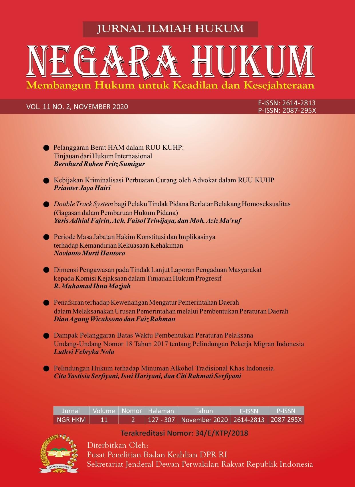 JNH Vol 11 No 2 November 2020